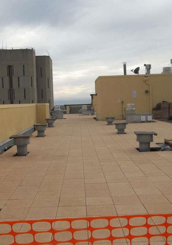 Roof Paver System Installation
