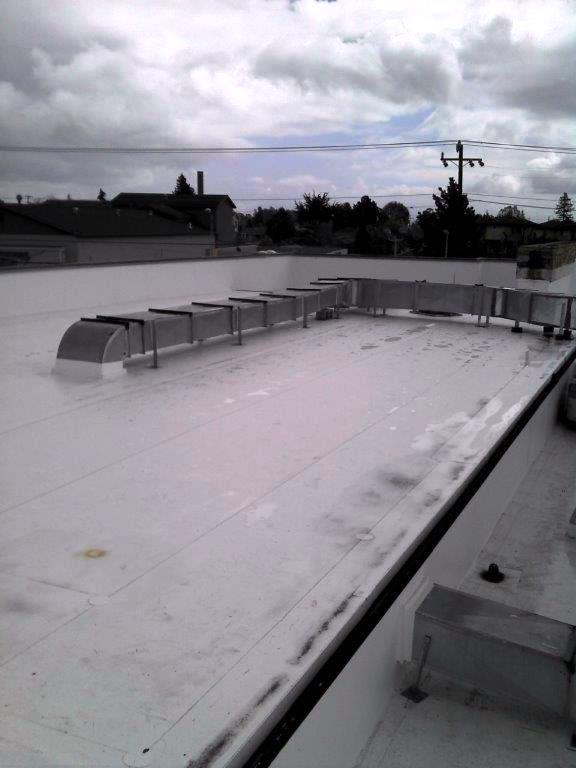 Single-ply roof / Bank of America, Santa Cruz