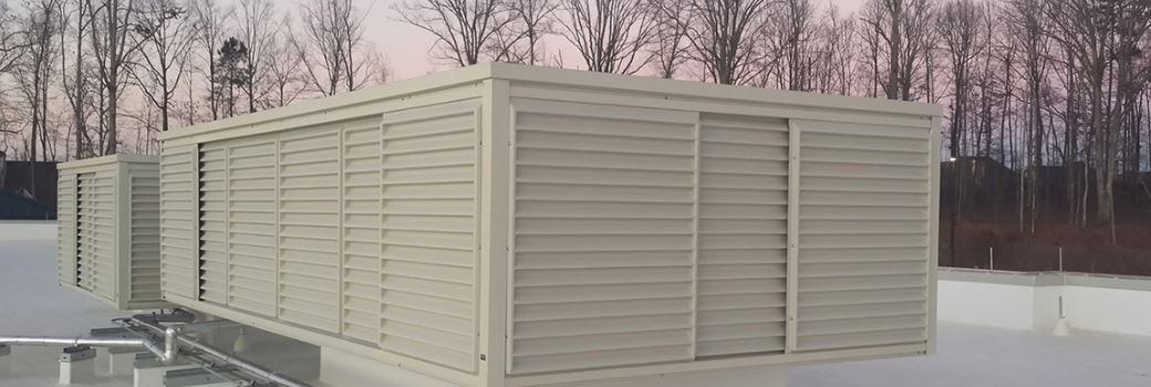 (A-One Roofing) Covering Rooftop Equipment with Roof Screens