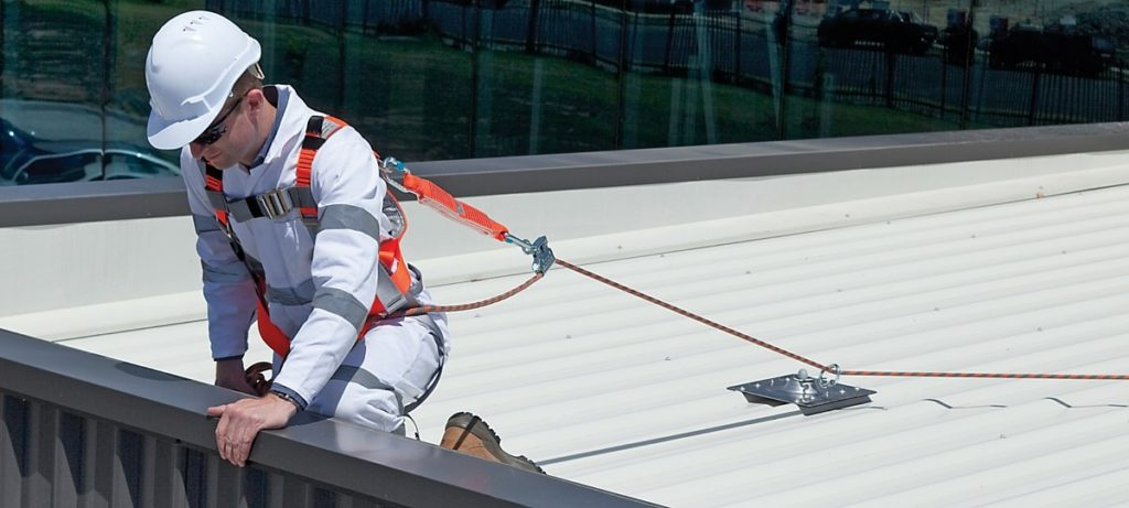 how to keep roof safe for roofers