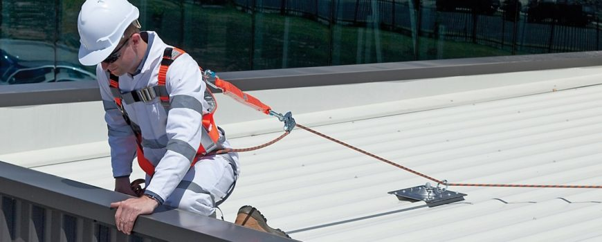 safety during roof repair