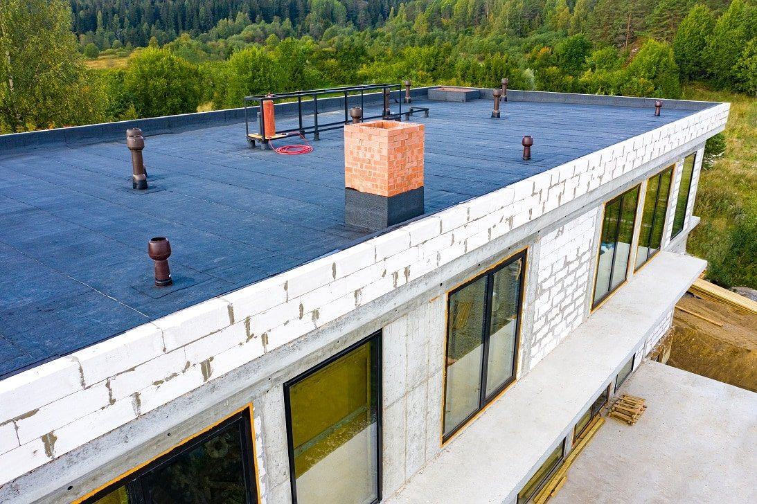 Flat-Roofing-Materials-And-Installation-Costs