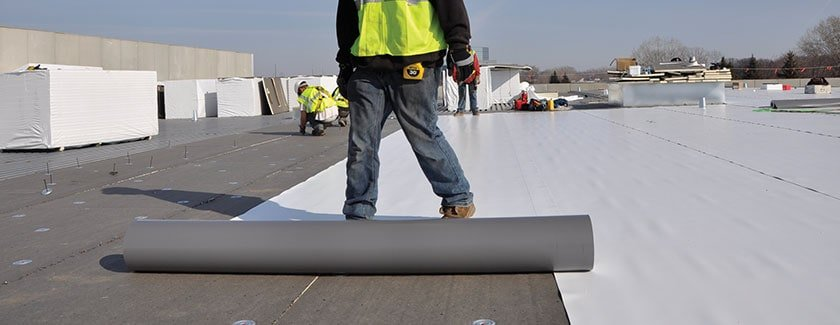 Roofing flat roof